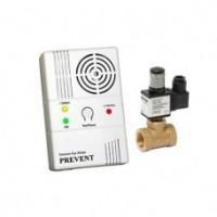 Detector de gaz metan Prevent 1279 cu electrovalva de 3/4, alb